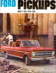 1968 Ford Truck dealer's brochure