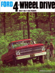 1968 Ford 4WD Truck dealer's brochure