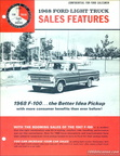 1968 Ford F100 Sales Features brochure