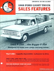 1968 Ford F250 Sales Features brochure