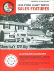 1968 Ford F250/350 Camper Special Sales Features brochure