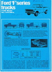 1969 Ford of Australia F100 specs sheet