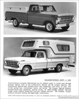 1969 Ford Truck press release photos
