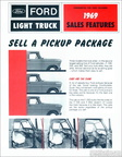 1969 Ford Light Truck Sales Features -
