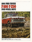 1966 F100/250 Four-Wheel Drive brochure (first printing - 8/65)