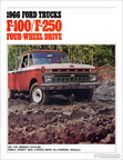 1966 F100/250 Four-Wheel Drive brochure (second printing - 1/66)