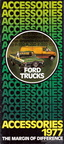 1977 Ford Truck Accessories brochure