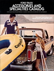 1978 Ford Truck Accessories and Specialties Catalog