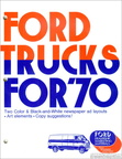 1970 Ford Truck newspaper advertising clipart book