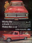 1970 Ford Truck magazine advertisements