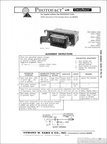 1970 Photofact AM radio service sheets for Ford trucks