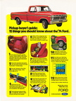 1974 Ford Truck magazine advertising