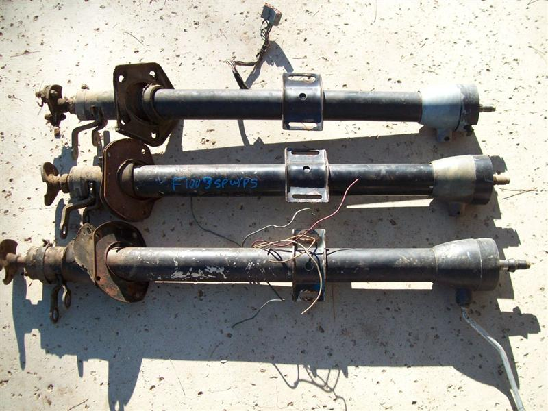 67 ford f100 steering column