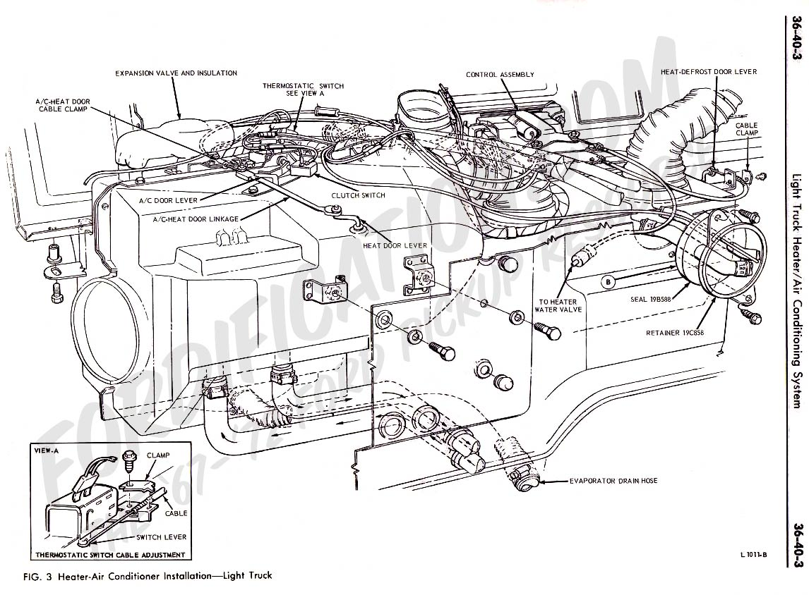 Ford Air Conditioning Wiring Diagram Detailed Schematics 2008 F250 A For The Circuit Truck Technical Drawings And Section F Heating Escape