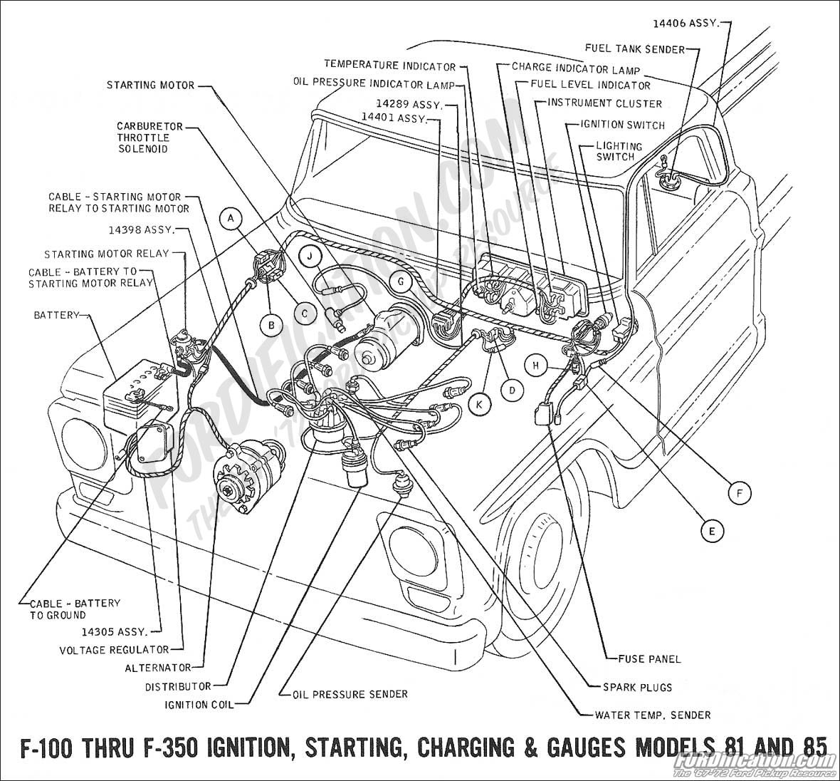 wiring 1969charging ford truck technical drawings and schematics section h wiring ford truck wiring diagrams at gsmportal.co