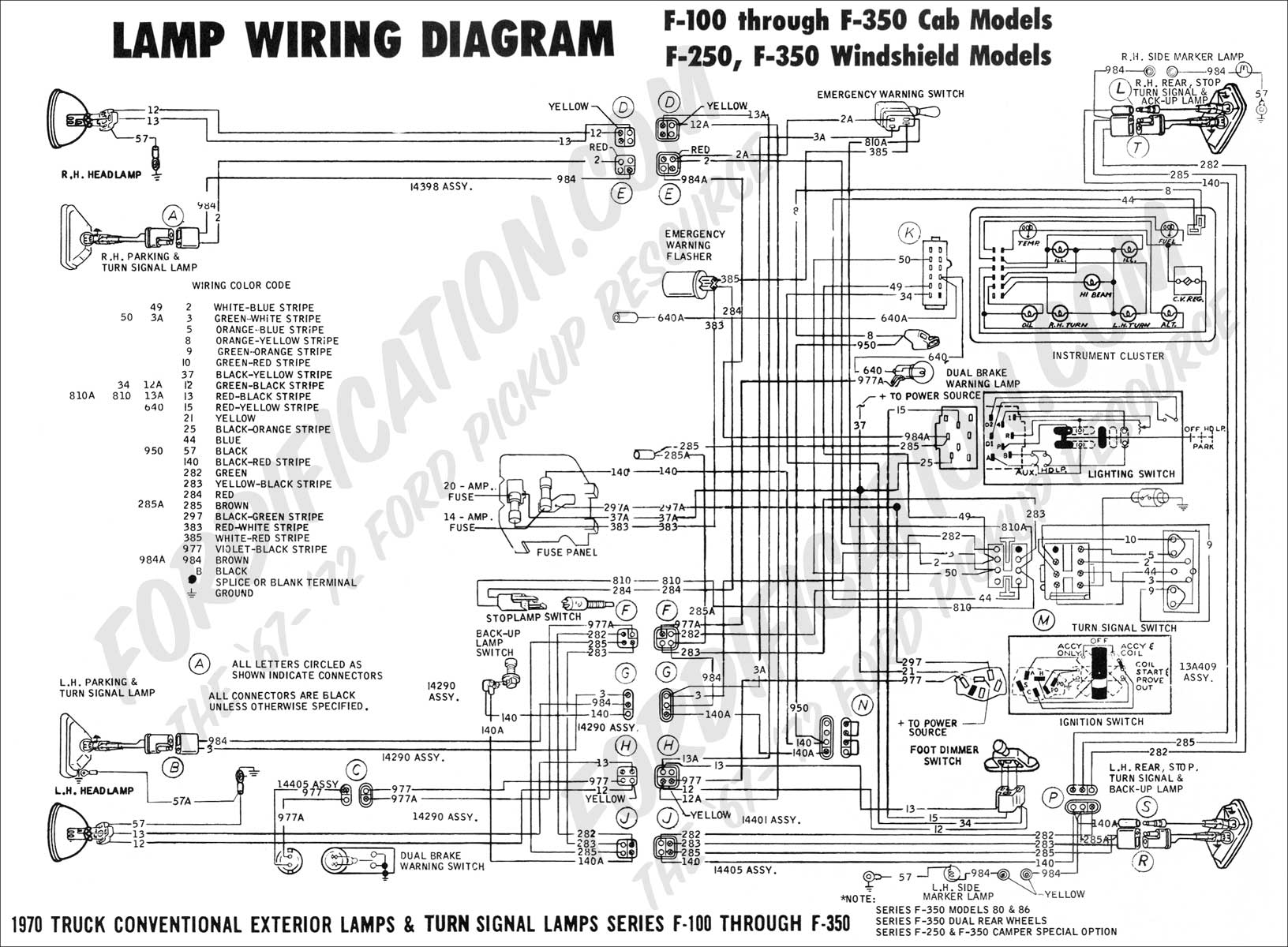trailer wiring diagram 7 way ford with 966863 1991 Ford F350 Wiring Schematic on Lewmar Wiring Diagram in addition E 70 additionally Electrical Setup And Wiring in addition Chevy 3 4 Ton Rear End Schematic moreover 98 Ta a Running Lights Wiring Diagram.