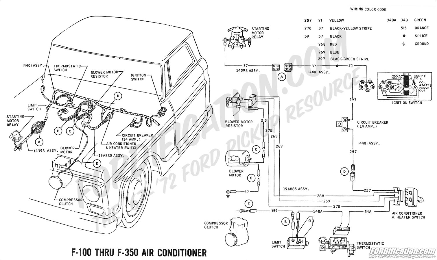 wiring_69ac ford truck technical drawings and schematics section h wiring wiring diagrams for ford trucks at crackthecode.co