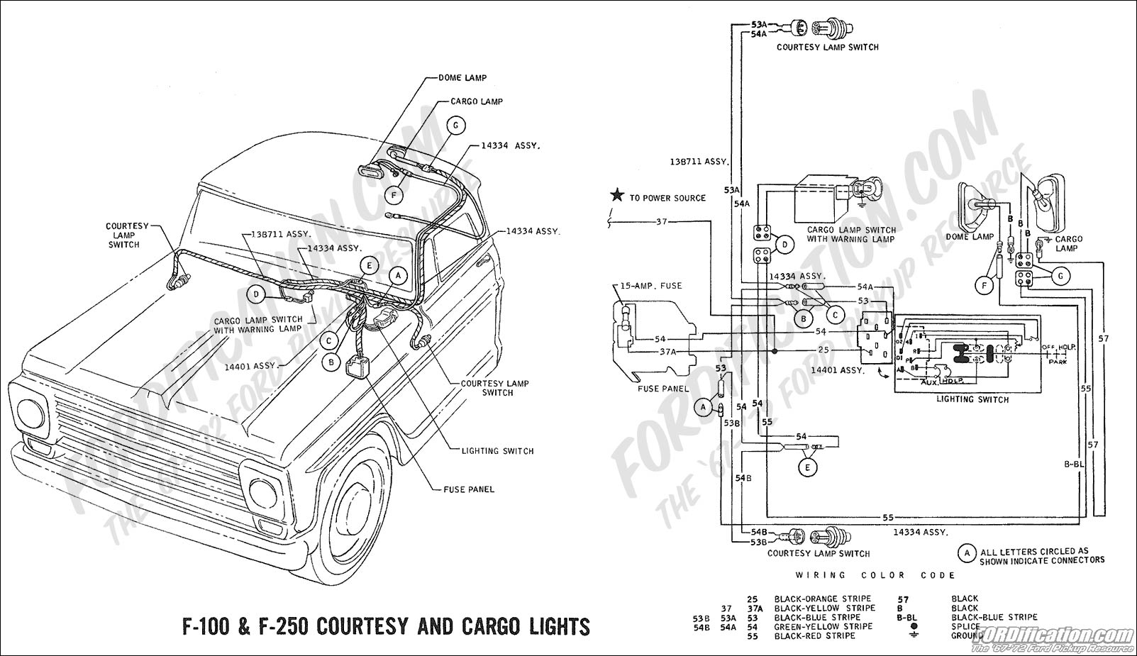 wiring_69courtesycargo ford truck technical drawings and schematics section h wiring 1969 ford f100 wiring diagram at n-0.co