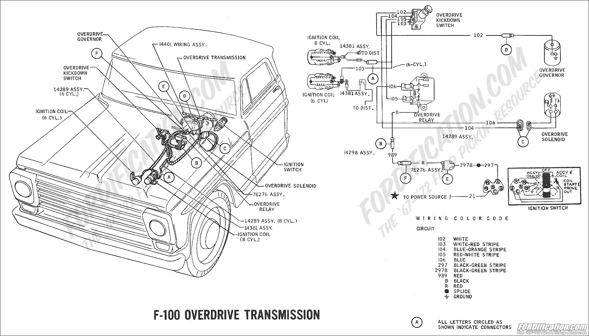 Wiring Diagram For 1969 F100 Ranger 390 Three On The Tree With Overdrive