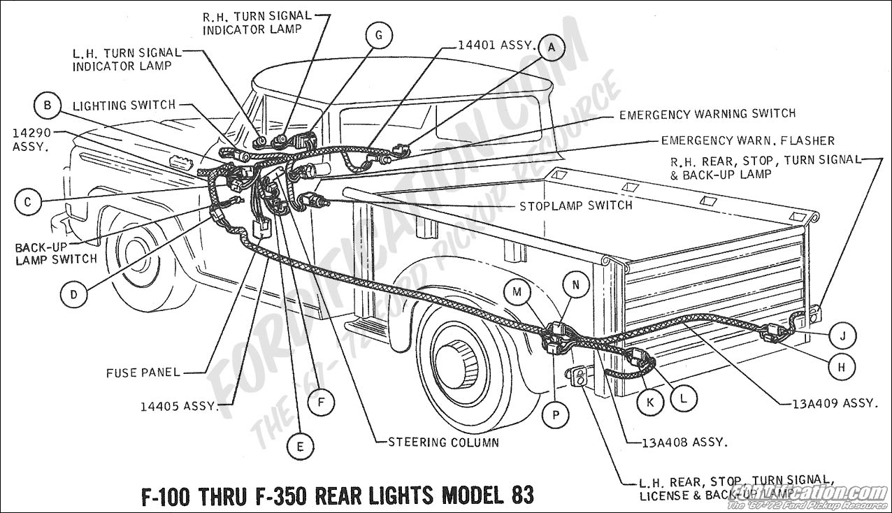 wiring_69rearlights model83 ford truck technical drawings and schematics section h wiring 1968 f100 wiring diagram at reclaimingppi.co
