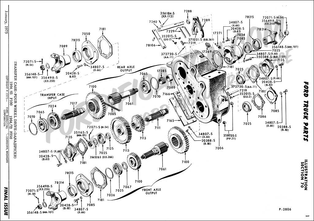 Ford Truck Technical Drawings and Schematics - Section G ...