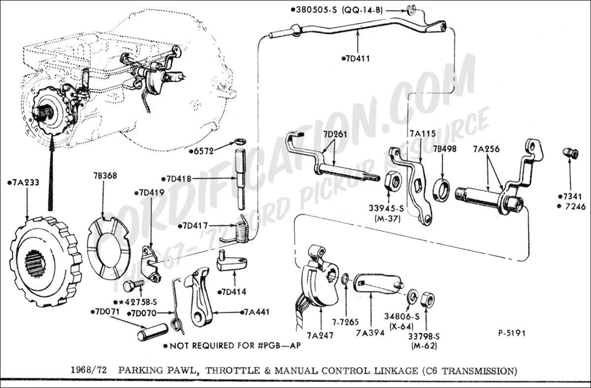 C6 Transmission Part Info Request Fordtransmissionforum Msd Wiring Diagram