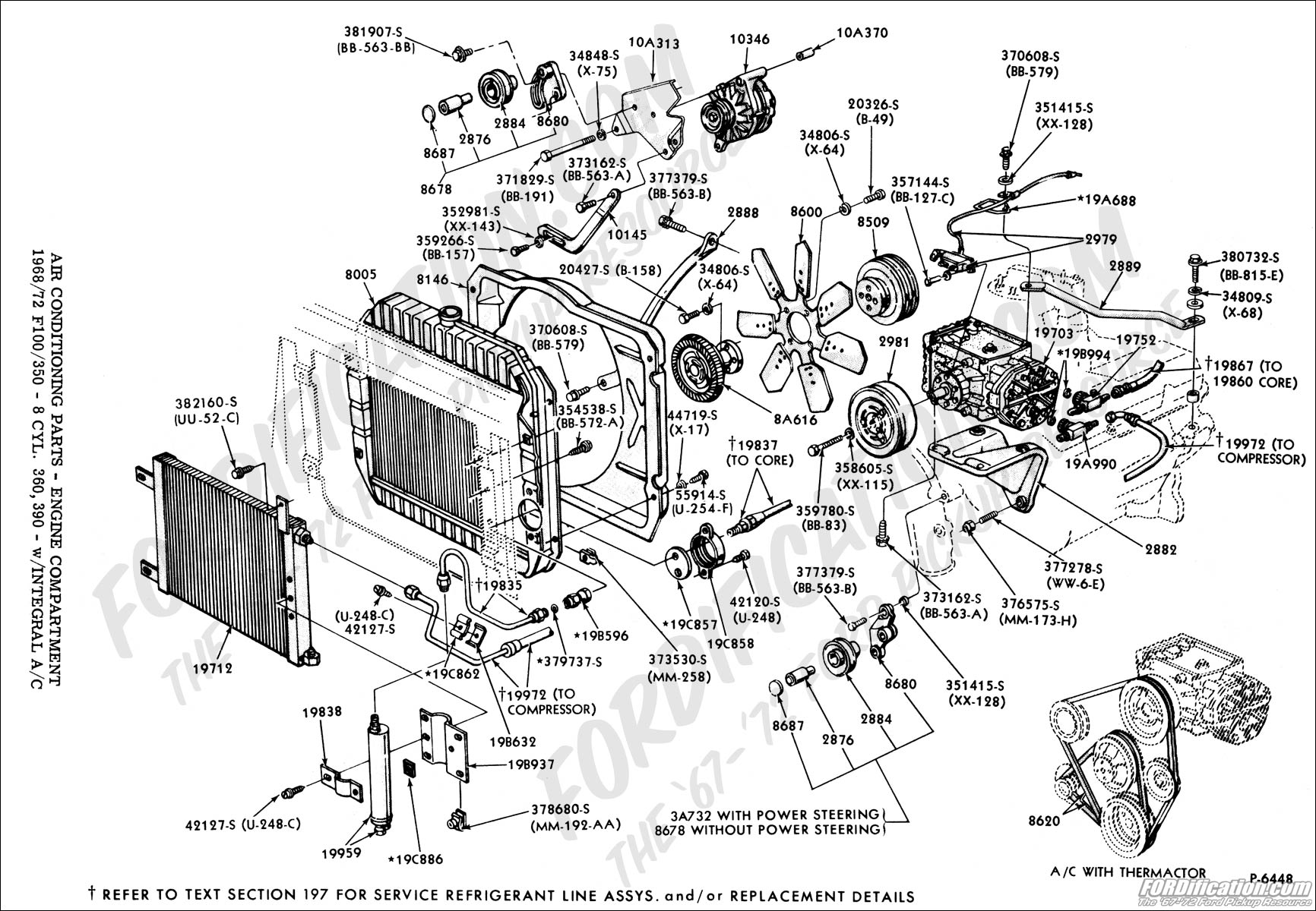 Ac Assembly Diagram Wiring Schemes Honda Civic Engine Block Parts And Components Car Ford Truck Technical Drawings Schematics Section F Heating Rh Fordification Com Compressor