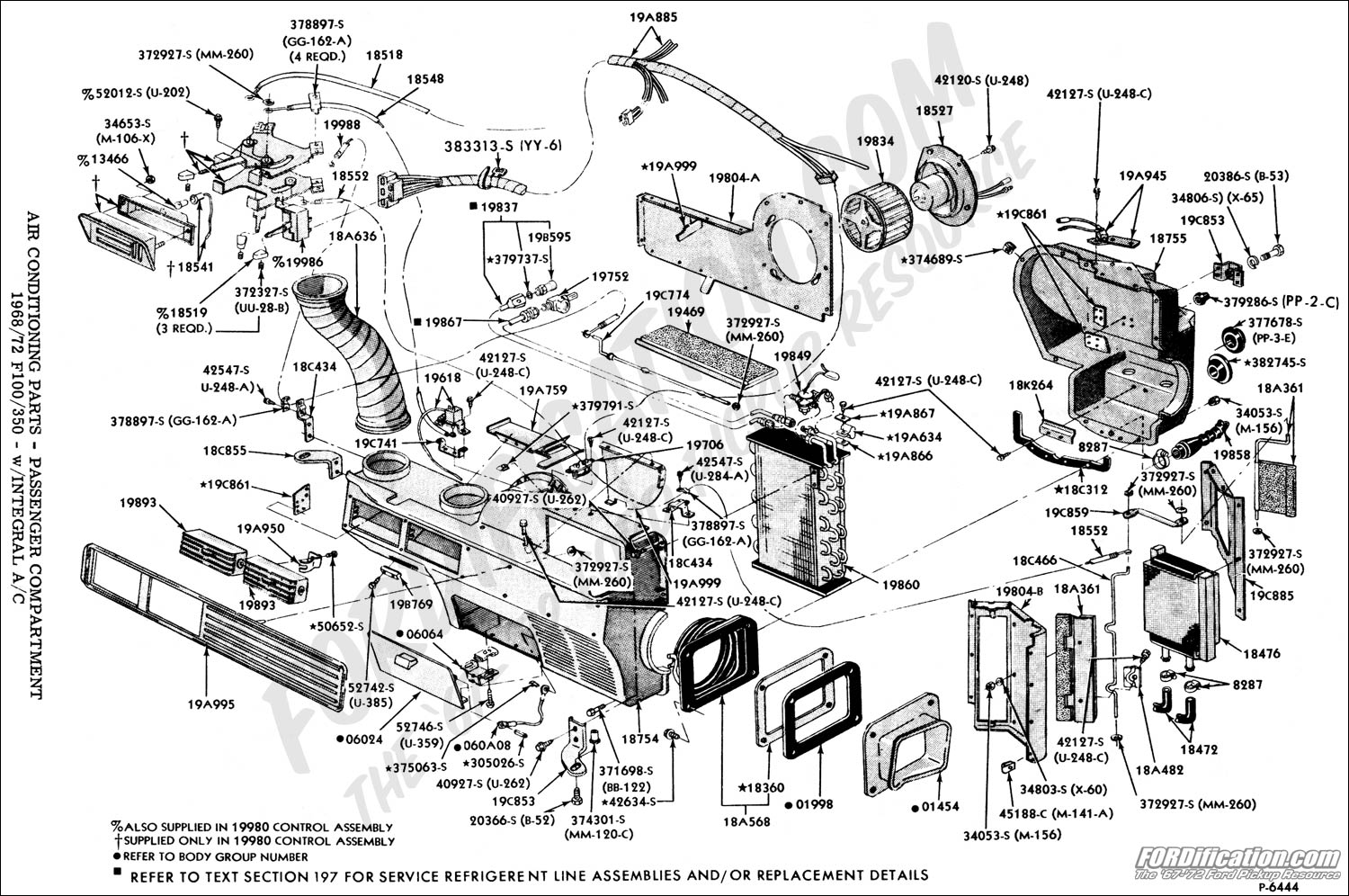 Ford Truck Technical Drawings And Schematics Section F