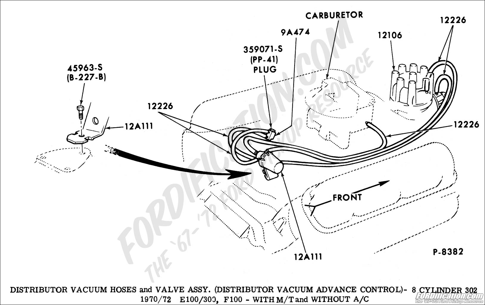 ford f 150 302 vacuum diagram  u2022 wiring diagram for free