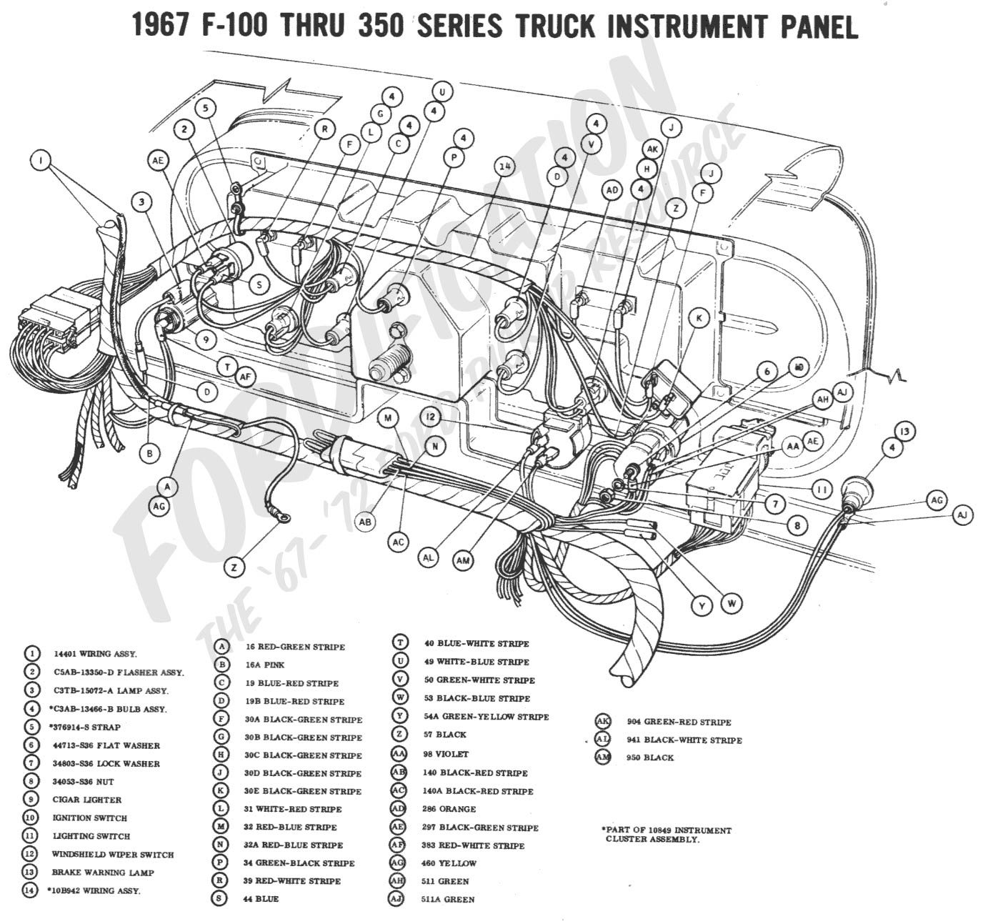 1967 Gto Dash Wiring Diagram Free Download