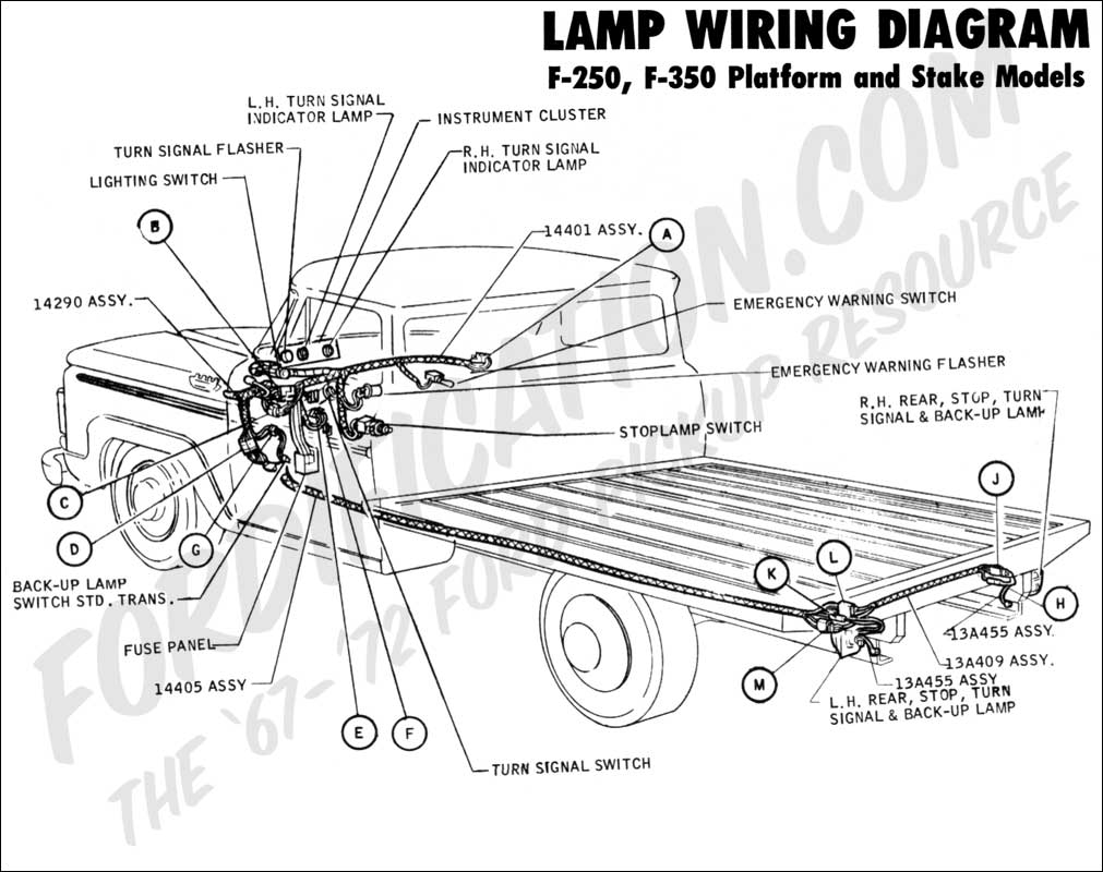1998 Ford F 250 Xlt Fuse Box Wiring Library 95 Ranger Tail Light Diagram Truck Technical Drawings And Schematics Section H Fuel System